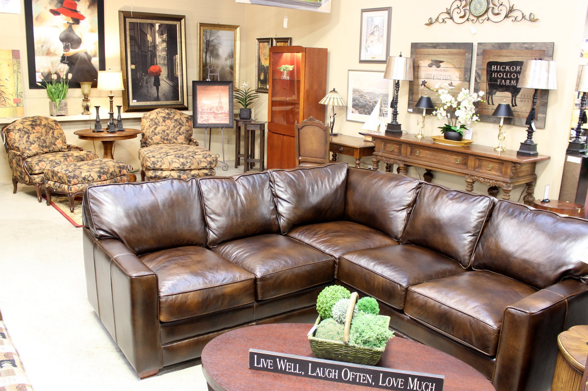 Save 40 80  on Quality Like New Furnishings. Upscale Consignment   Upscale Used Furniture   Decor